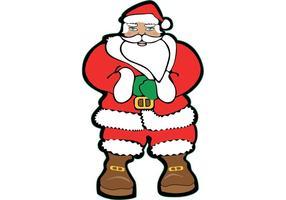 Santa claus vektorbild