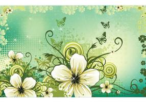 Vector-flowers-background