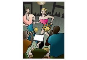 Salsa Orquesta och Dance