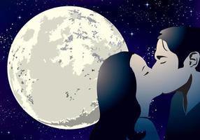 Liebhaber unter dem Mond