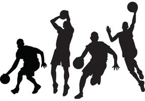 Basketball Players Vectors