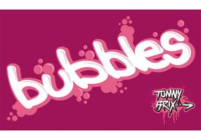 bubbles - design Tommy Brix