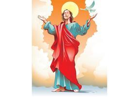 Vetor de cristo