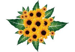 Bouquet de vetores florais