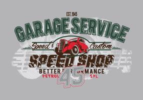 Free Vintage Vector T-Shirt Design SERVICE45