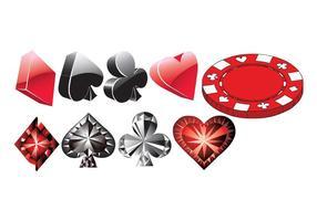 Libre Poker Vectores