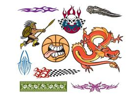 10 Cliparts criativos para designers de logotipos
