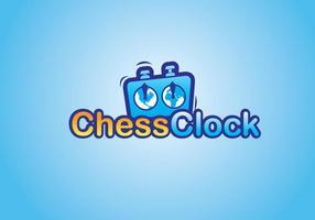 Schach Uhr Logo