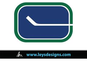 Ga Canucks Ga! - Stick Logo (oud)