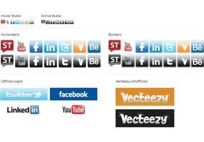 Iconos de medios sociales - Starter Kit