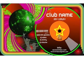 Vector-club-poster-template
