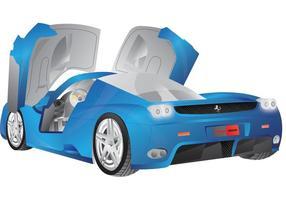 Ferrari enzo vektor