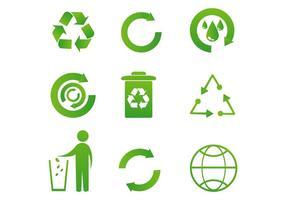 Recycle Pictogram Vectors