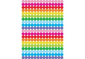 Free Dots in Color Range