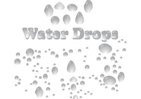 Vector-water-drops