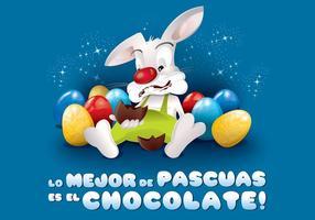 Det är en stor del av Las Pascuas es el Chocolate