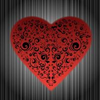Abstract-ornamented-heart-vector