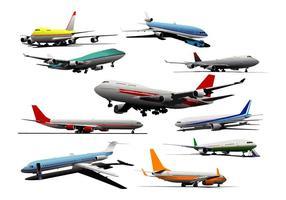 Realistische Vector Planes