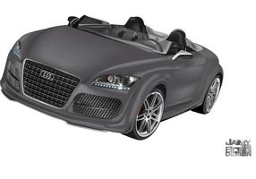 Audi tt convertible vector
