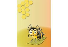 Abeja, abeja, vector
