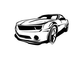 Carro Camaro Vector Limpio