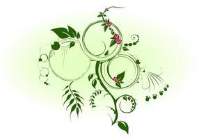 Junglerose-vector