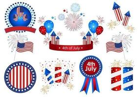 10 4th of July Vectors