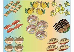 Japanse Food Vector