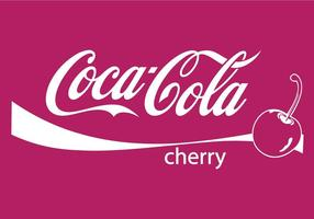 Coca cola cherry vector .ai