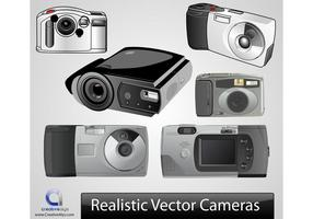 Realistische Vectorcamera's