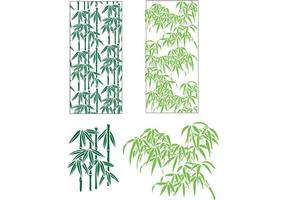 Bamboo Leaves Vector