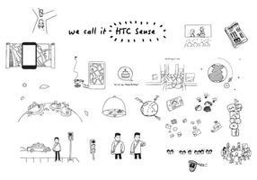 HTC Sense Vectores
