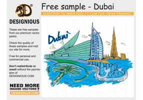 Vector Famous Cities Free Sample