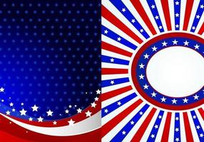 4th of July Wallpaper Vector Pack