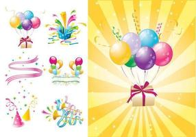 Party Time Vector och Wallpaper Pack Two