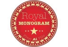 Royal Monogram Vector