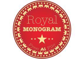 Royal Monogram Vector