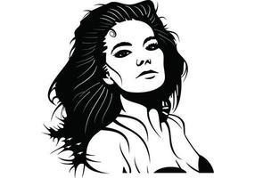 Portrait vectoriel bjork