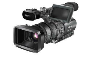 Kostenlose HDR-FX1 Videokamera Vektor