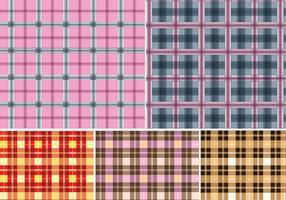 5 Modèle de tissu à carreaux