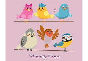Cute Bird Vectors !!!