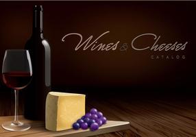 Weine und Käse Katalog