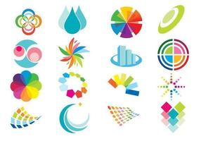 Elementos de color Vector Pack