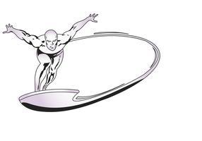 Marvel Silversurfer Vektor
