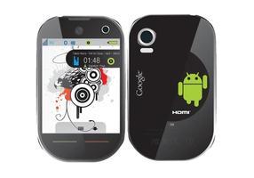 Smartphone lg vektor