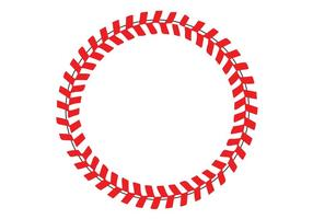 Points de baseball dans un vecteur de cercle