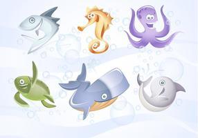 Marine Vector Animals Collection