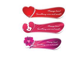 Süße Liebe Banner