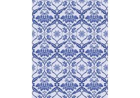 Blue Victorian Pattern