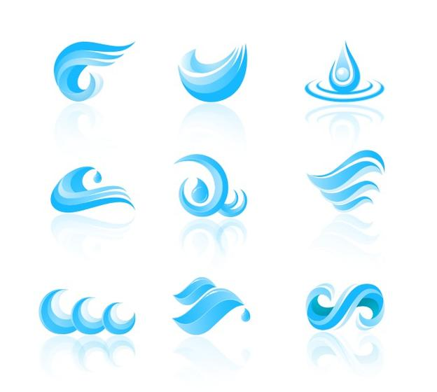 water free vector art - (5884 free downloads)